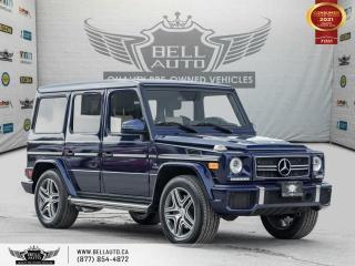 Used 2013 Mercedes-Benz G-Class G 63, AMG PKG, NAVI, R.DVD, REARCAM, B.SPOT, SUNROOF for sale in Toronto, ON