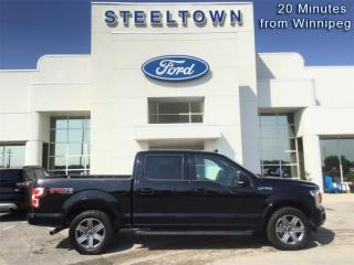 Used 2018 Ford F-150 XLT  - Bluetooth -  SiriusXM for sale in Selkirk, MB