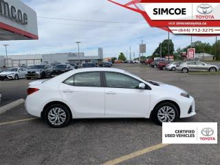 Used 2018 Toyota Corolla SE  - Certified - Heated Seats for sale in Simcoe, ON