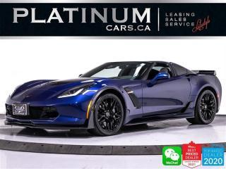 Used 2018 Chevrolet Corvette Z06w/2LZ,Z07 PKG,CARBON FIBER,H.U.D,NAVI,CAMERA, for sale in Toronto, ON