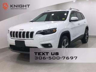 Used 2020 Jeep Cherokee Limited 4x4 V6   Leather   Sunroof   Navigation   for sale in Regina, SK