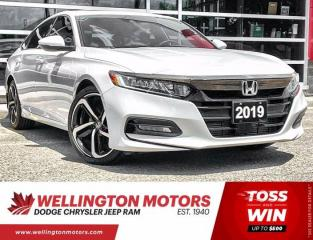 Used 2019 Honda Accord Sedan Sport   Manual   Clean CarFax   Leather for sale in Guelph, ON