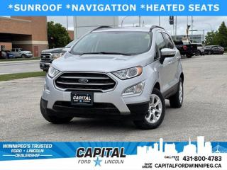 Used 2018 Ford EcoSport SE for sale in Winnipeg, MB
