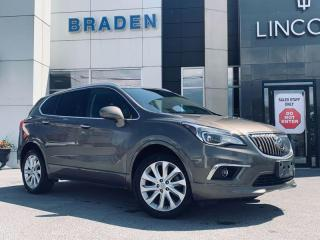 Used 2016 Buick Envision Premium II for sale in Kingston, ON