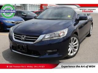 Used 2015 Honda Accord Touring | CVT | Navigation for sale in Whitby, ON