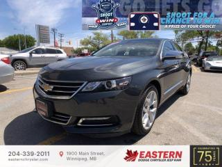Used 2019 Chevrolet Impala Premier | 1 Owner | Panoramic Sunroof | for sale in Winnipeg, MB