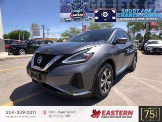 Used 2020 Nissan Murano SV | No Accidents | 1 Owner | Panoramic Sunroof | for sale in Winnipeg, MB