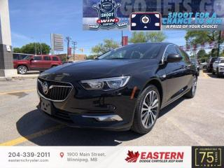 Used 2019 Buick Regal Sportback Preferred II | No Accidents | Backup Camera | for sale in Winnipeg, MB