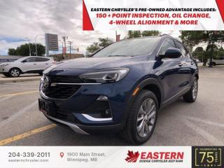 Used 2020 Buick Encore GX Essence | 1 Owner | No Accidents | for sale in Winnipeg, MB