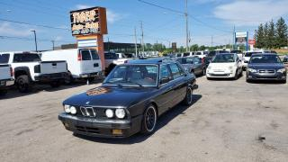 Used 1986 BMW 5 Series 535i*MANUAL*IS KIT*RUST FREE*WHEELS*VERY CLEAN for sale in London, ON