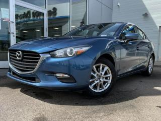 Used 2017 Mazda MAZDA3 GS - MANUAL, SUNROOF, BLUETOOTH, BACK UP CAM HEATED SEATS AND MORE for sale in Edmonton, AB