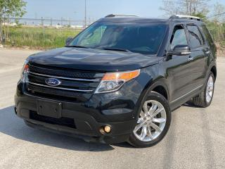 Used 2014 Ford Explorer LIMITED for sale in Brampton, ON