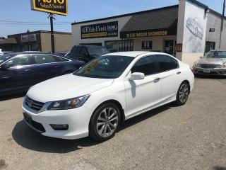 Used 2014 Honda Accord Sport SPORT MODEL WITH 6 SPEED ! for sale in Etobicoke, ON