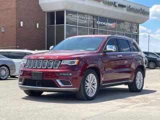 Used 2018 Jeep Grand Cherokee Summit DIESEL/NAVI/FULL SUNROOF for sale in Concord, ON