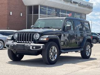 Used 2019 Jeep Wrangler Unlimited Sahara 4x4 NAVI/SKY TOP POWER ROOF for sale in Concord, ON