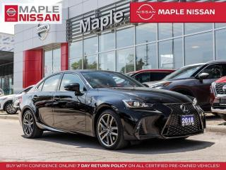 Used 2018 Lexus IS 350 IS350 AWD F-Sport Blind Spot Bluetooth Backup Cam for sale in Maple, ON
