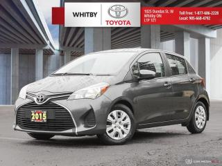 Used 2015 Toyota Yaris LE for sale in Whitby, ON
