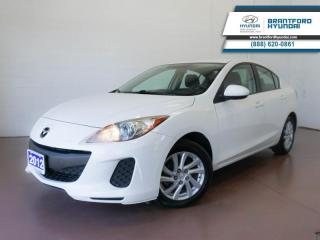 Used 2012 Mazda MAZDA3 BLUETOOTH | HEATED SEATS | ACCIDENT-FREE for sale in Brantford, ON