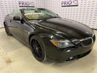 Used 2007 BMW 6 Series 650i Convertible for sale in Ottawa, ON