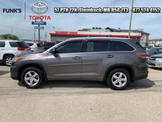Used 2015 Toyota Highlander AWD 4DR XLE for sale in Steinbach, MB