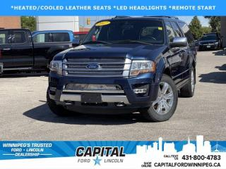 Used 2017 Ford Expedition Max Platinum for sale in Winnipeg, MB