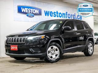 Used 2019 Jeep Cherokee SPORT+CAMERA+WOODGRAIN TRIM+REAR PSOILER for sale in Toronto, ON