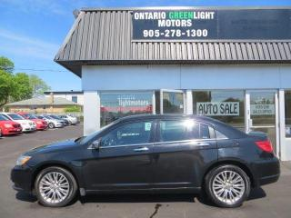 Used 2012 Chrysler 200 Limited,leather,sunroof,navigation,low km for sale in Mississauga, ON