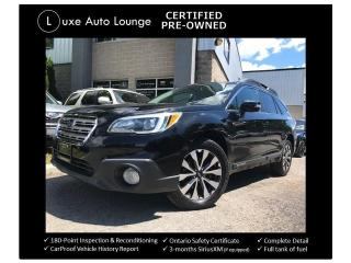 Used 2015 Subaru Outback 3.6R TECH PKG, EYESIGHT, LEATHER, SUNROOF, NAV! for sale in Orleans, ON