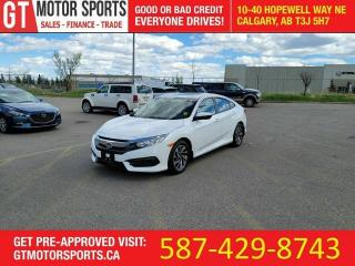 Used 2016 Honda Civic EX   $0 DOWN - EVERYONE APPROVED! for sale in Calgary, AB
