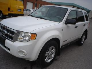 Used 2008 Ford Escape HYBRID for sale in Mississauga, ON