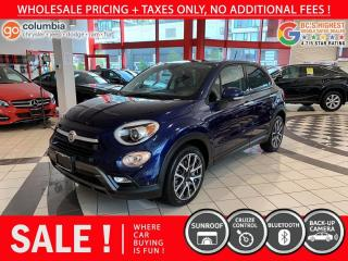Used 2017 Fiat 500 X Trekking - Sunroof / No Dealer Fees / Local for sale in Richmond, BC