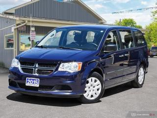Used 2015 Dodge Grand Caravan Canada Value Package, ECON, DUAL CLIMATE for sale in Orillia, ON