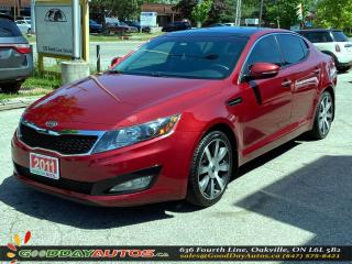 Used 2011 Kia Optima EX SINGLE OWNER LOW KM NO ACCIDENT NAVI CERTIFIED for sale in Oakville, ON