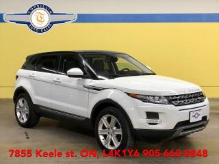 Used 2015 Land Rover Range Rover Evoque Navi, Sky Roof, Back-up Cam 2 Years Warranty for sale in Vaughan, ON