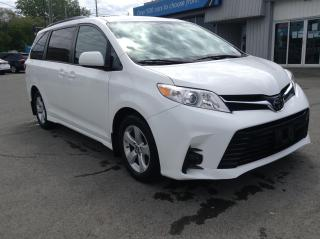 Used 2018 Toyota Sienna LE 8-Passenger 8 PASS, PWR HEATED SEAT, PWR DOORS, BACKUP CAM!! for sale in Kingston, ON