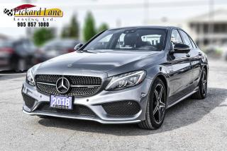 Used 2018 Mercedes-Benz AMG C 43 C43! | ACCIDENT FREE! | ONTARIO VEHICLE! for sale in Bolton, ON