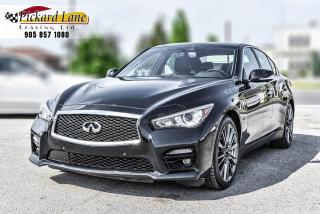 Used 2017 Infiniti Q50 3.0t Red Sport 400 RED SPORT 400! | PROPER SERVICE HISTORY! | for sale in Bolton, ON