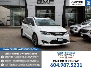 Used 2017 Chrysler Pacifica Limited NAVIGATION - ENTERTAINMENT SYS - MOONROOF for sale in North Vancouver, BC