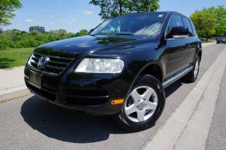 Used 2007 Volkswagen Touareg LOW KM'S / EXCELLENT SHAPE / V6 / DEALER SERVICED for sale in Etobicoke, ON