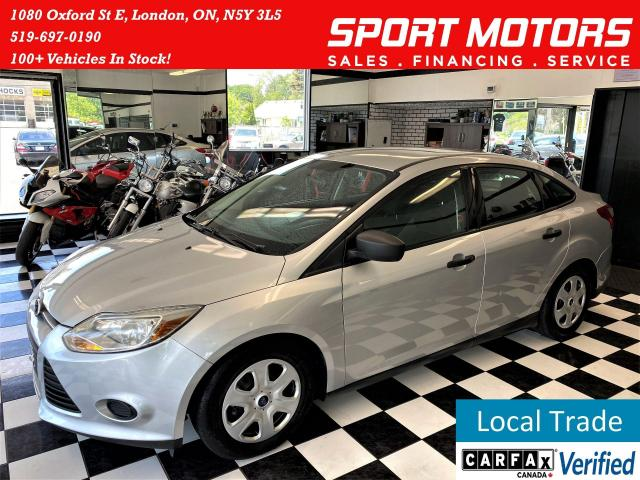2014 Ford Focus S+New Brakes+A/C+Bluetooth