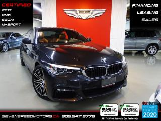 Used 2017 BMW 5 Series 530XI | M-SPORT | CERTIFIED | FINANCE | 9055478778 for sale in Oakville, ON