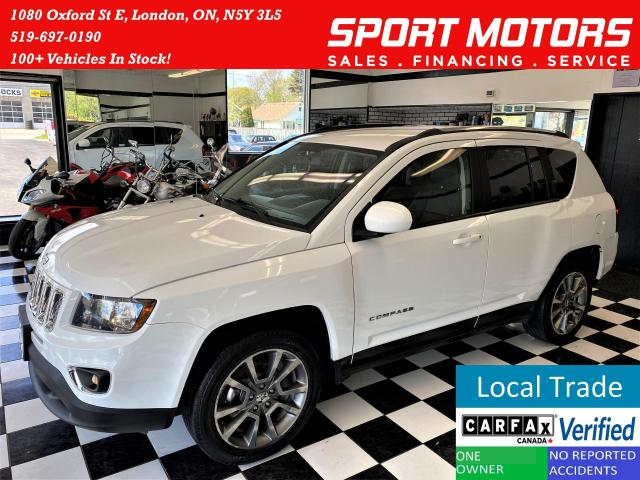 2014 Jeep Compass Limited 4x4+Heated Leather++CLEAN CARFAX