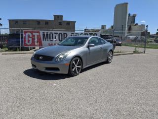 Used 2006 Infiniti G35 | $0 DOWN - EVERYONE APPROVED!! for sale in Calgary, AB