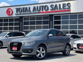 Used 2015 Audi Q3 NAVI | XENON | PANO | PREMIUM PLUS for sale in North York, ON