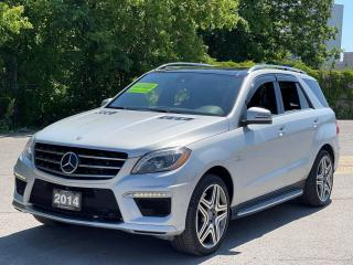 Used 2014 Mercedes-Benz M-Class ML 63 AMG Navigation /Sunroof /Camera for sale in North York, ON