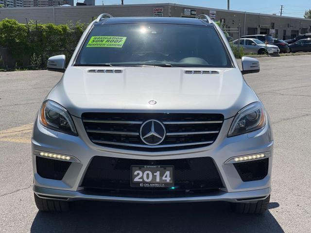 2014 Mercedes-Benz M-Class ML 63 AMG Navigation /Sunroof /Camera Photo2