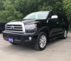 Used 2013 Toyota Sequoia Platinum for sale in Brockville, ON