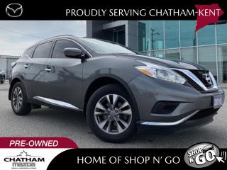 Used 2016 Nissan Murano S FWD With Navigation for sale in Chatham, ON