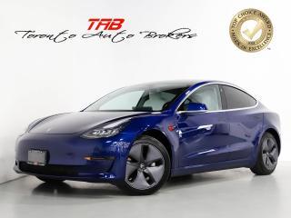Used 2019 Tesla Model 3 LONG RANGE I SELF DRIVE I NAV I 1-OWNER for sale in Vaughan, ON