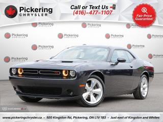 Used 2016 Dodge Challenger R/T - CLASSIC PKG/V8/SUNROOF/SUEDE SEATS/HEATED SE for sale in Pickering, ON
